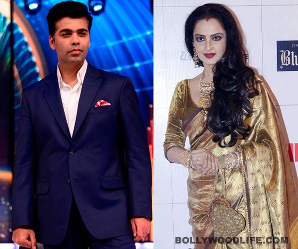 Will Karan Johar get Rekha on Koffee with Karan 4?