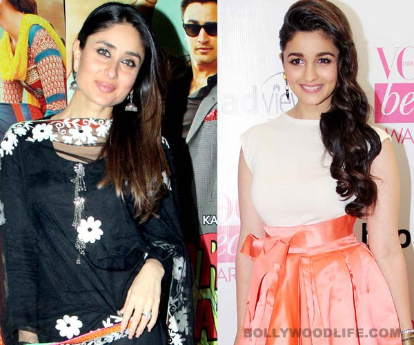 Is Kareena Kapoor Khan mentoring Alia Bhatt?