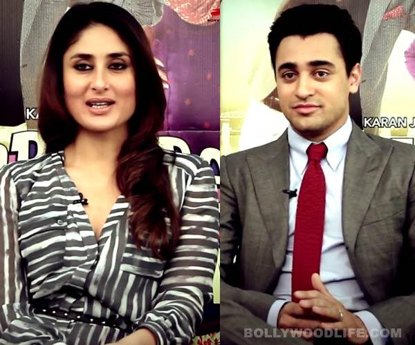 Is Kareena Kapoor impressed with Imran Khan's knowledge? Watch video!