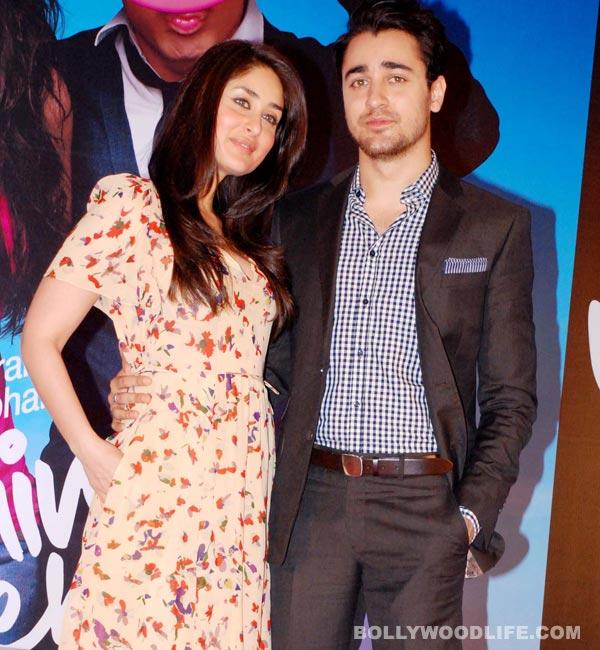 What is Kareena Kapoor Khan's advice to Imran Khan?