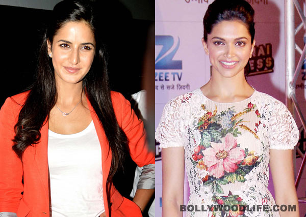 Is Katrina Kaif threatened by Deepika Padukone?