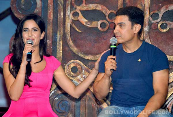 Is Aamir Khan making Katrina Kaif feel insecure?