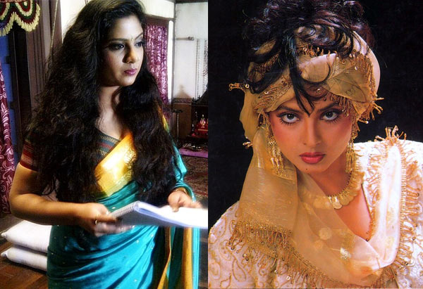 Who will play Rekha's role in the Marathi remake of Khoon Bhari Maang?
