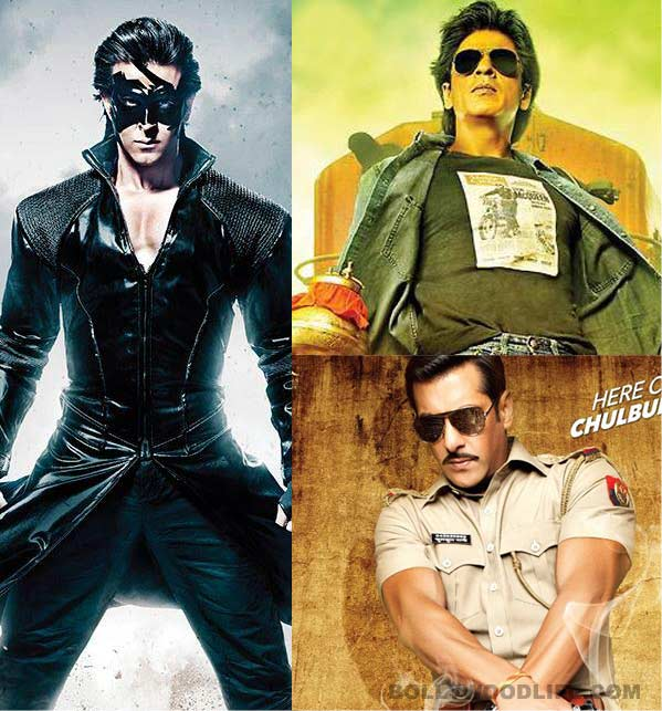 Krrish 3: Hrithik Roshan proves that he still can't beat Shahrukh Khan and Salman Khan!