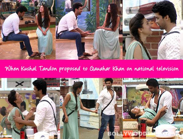 Bigg Boss 7: Kushal Tandon proposes to Gauahar Khan on national TV!