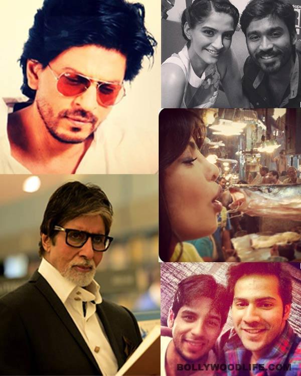 Shahrukh Khan, Priyanka Chopra, Amitabh Bachchan, Sonam Kapoor - who is the biggest 'selfie' addict in B-town?