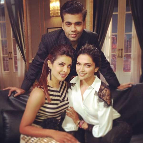 Why did Karan Johar rope in Priyanka Chopra and Deepika Padukone for Koffee with Karan 4?