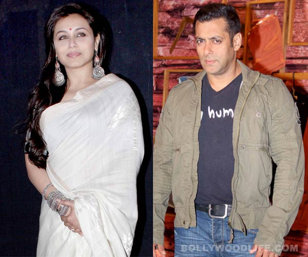 After Shahid Kapoor, Rani Mukerji to ape Salman Khan