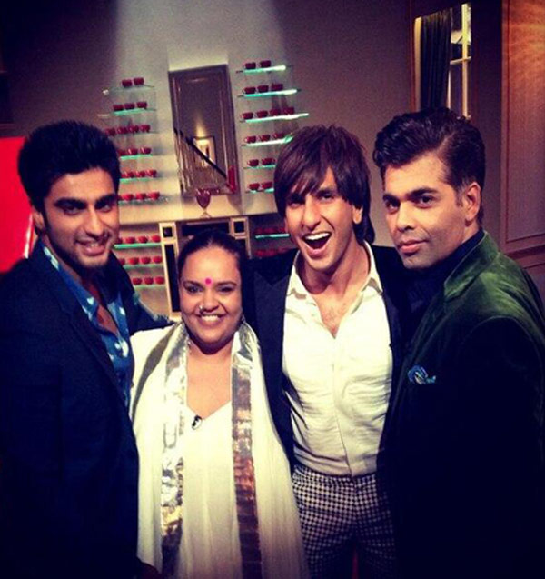 Will Ranveer Singh and Arjun Kapoor be on Koffee with Karan 4 for Gunday promotions?