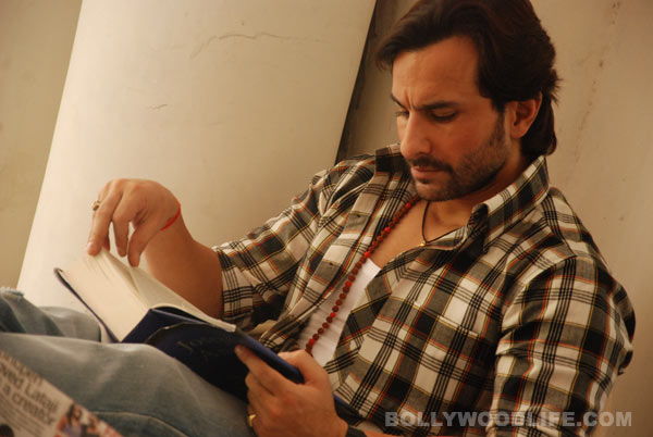 Apart from films and Kareena Kapoor, what is Saif Ali Khan obsessed with?