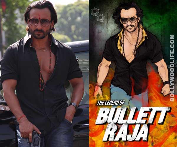 Saif Ali Khan's Bullett Raja goes from digital to print!