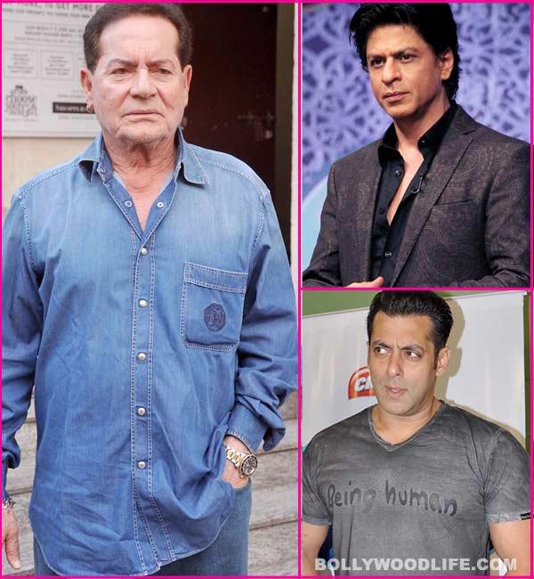 Why can't Shahrukh Khan ever love Salman Khan?