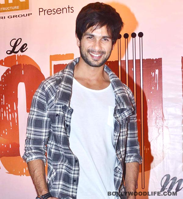 Shahid Kapoor : I just need some luck!