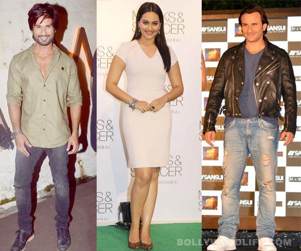 Sonakshi Sinha chooses Shahid Kapoor over Saif Ali Khan!