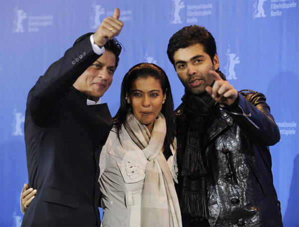 Karan Johar brings Shahrukh Khan and Kajol together