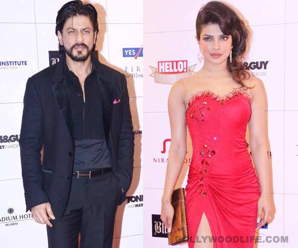 Is Priyanka Chopra trying to avoid Shahrukh Khan?