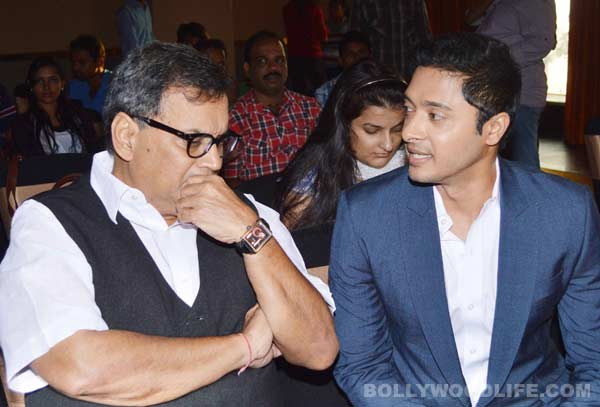 Subhash Ghai launches Shreyas Talpade's Marathi venture