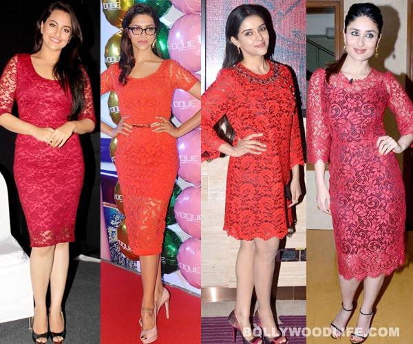 Deepika Padukone or Kareena Kapoor Khan: Who looks sexier in red lace?