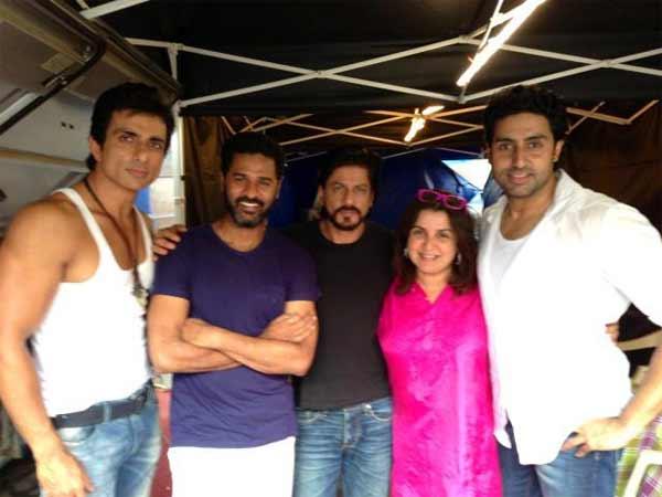 Is Prabhu Dheva shifting loyalty from Salman Khan to Shahrukh Khan?