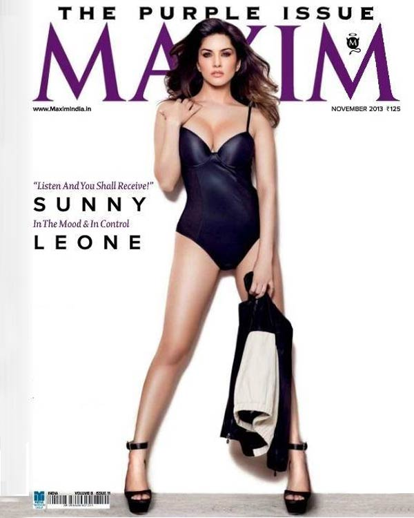Sunny Leone flaunts her curves on the Maxim cover!