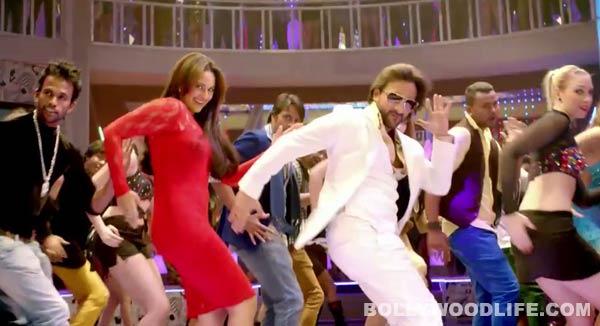Bullett Raja song Tamanche pe disco making: Is Saif Ali Khan dancing better than Sonakshi Sinha?