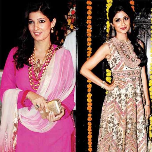 Shilpa Shetty reconciles with Akshay Kumar and Twinkle Khanna at Ekta Kapoor's Diwali bash