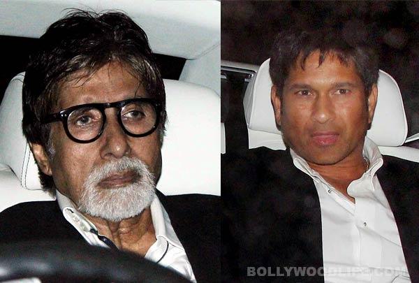 Why does Amitabh Bachchan not want Sachin Tendulkar to be an actor?