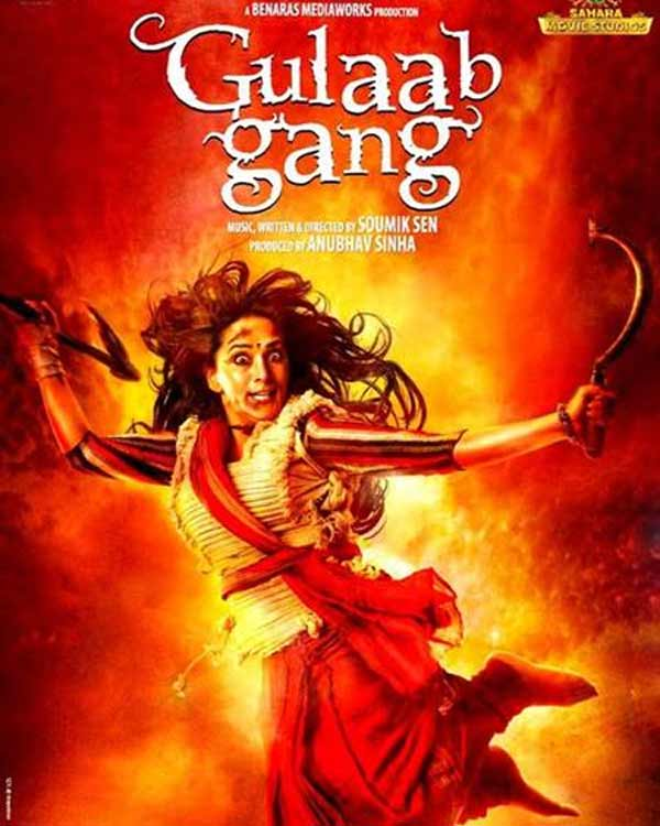 Madhuri Dixit-Nene's Gulaab Gang to release on March 7, 2013 - View poster!