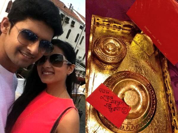 Ravi Dubey-Sargun Mehta wedding invitation: View pic!