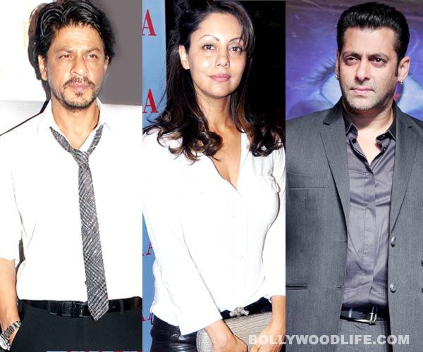 Is Gauri Khan worried about her husband Shahrukh Khan's equation with Salman Khan?