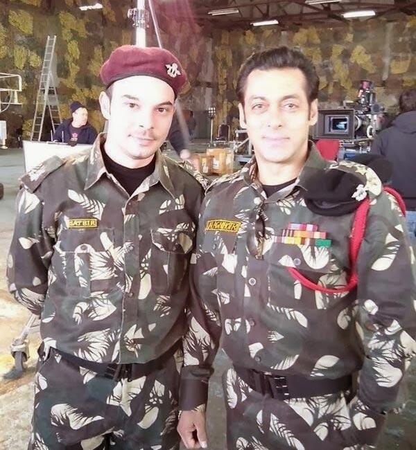 After Shahrukh Khan, Salman Khan turns army officer