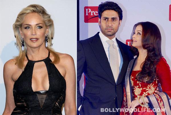 Sharon Stone finds Aishwarya Rai Bachchan and Abhishek Bachchan very generous