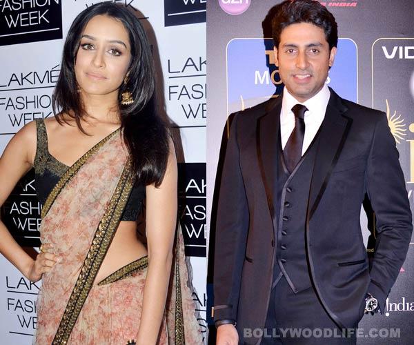 Why is Shraddha Kapoor apologising to Abhishek Bachchan?