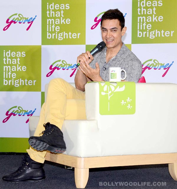 What is Aamir Khan's 'good news' for his fans?