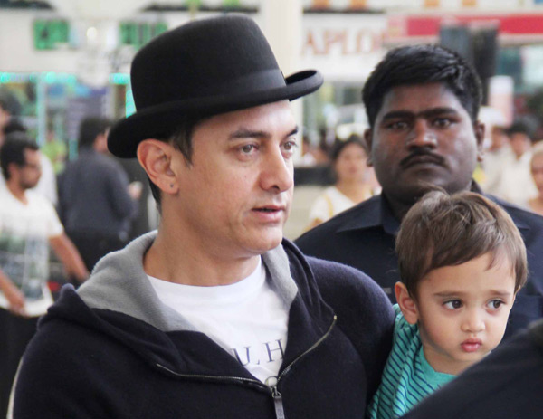 Aamir Khan's son Azad to watch Dhoom:3!