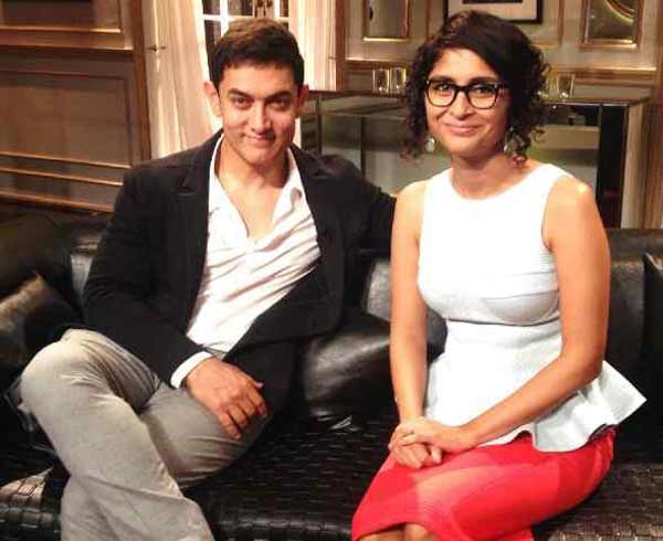 Koffee with Karan 4: Aamir Khan shocked with Kiran Rao's response to Karan Johar's crazy question
