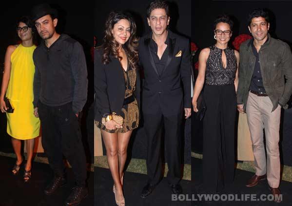 Shahrukh Khan, Aamir Khan, Farhan Akhtar - who looks the most dapper in black?