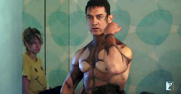 How did Aamir Khan get his look for Dhoom:3 song Malang ...