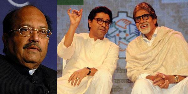Amitabh Bachchan's former 'brother' Amar Singh slams his outing with Raj Thackeray!