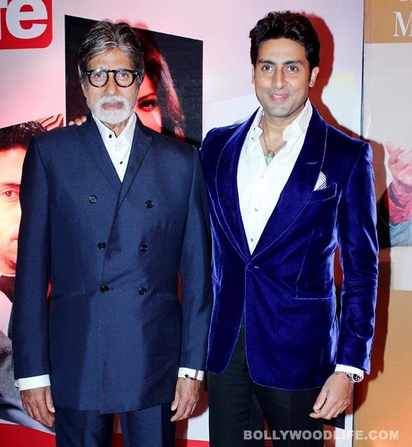 Why is Amitabh Bachchan proud of Abhishek Bachchan?