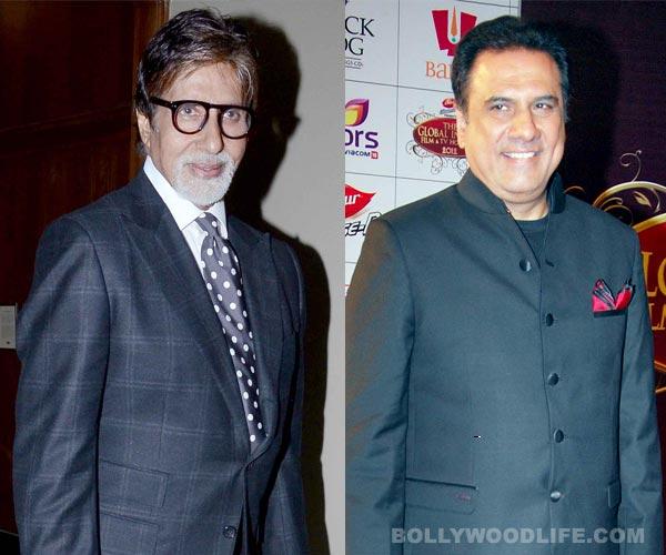 Amitabh Bachchan overjoyed to work with Boman Irani
