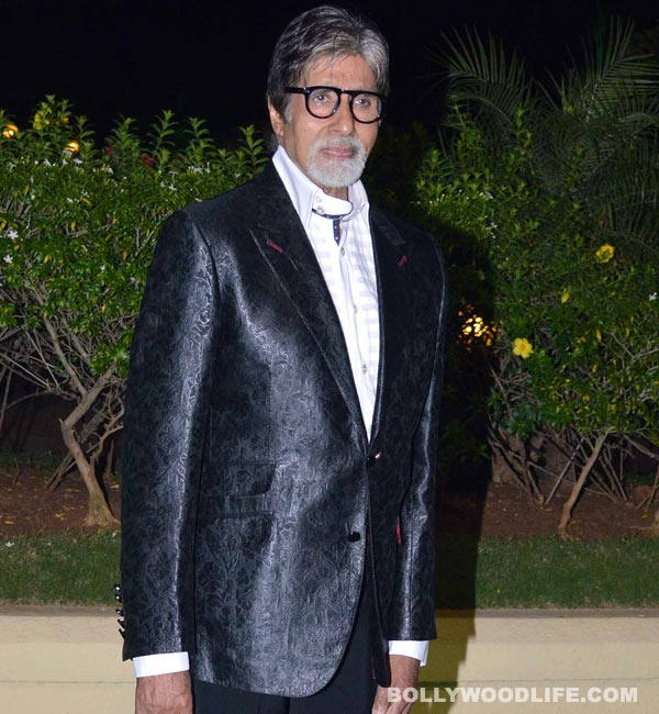 Amitabh Bachchan: There's always a fear that I can lose everything