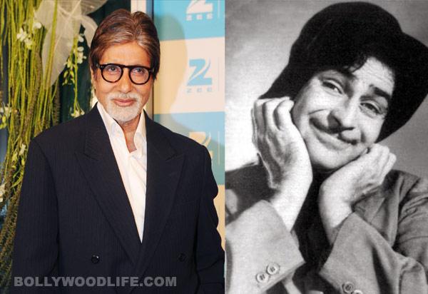 Amitabh Bachchan to step into Raj Kapoor's shoes?