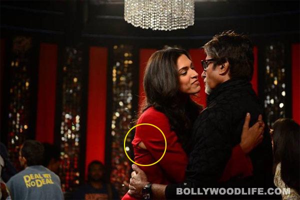 After Katrina Kaif, Deepika Padukone suffers wardrobe malfunction!