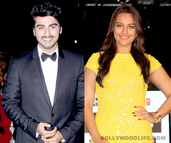 What is Arjun Kapoor's next film with Sonakshi Sinha called?