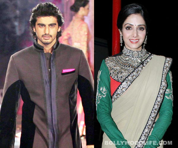 What does Arjun Kapoor think about stepmum Sridevi?