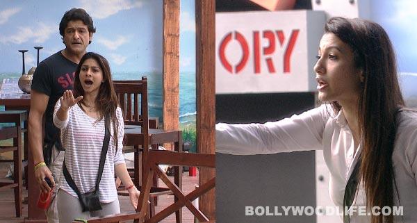 Bigg Boss 7: Tanishaa Mukherji and Gauahar Khan in a new war of words!
