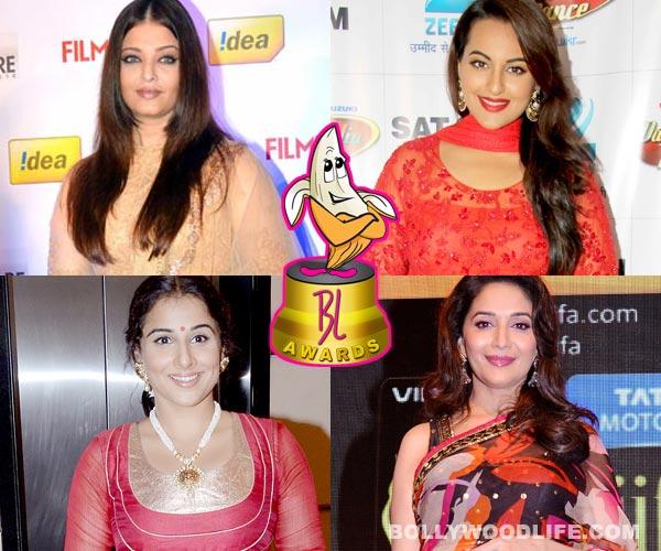 The 3rd BollywoodLife Awards: Aishwarya Rai Bachchan, Sonakshi Sinha or Vidya Balan – Who is the Auntyji of the year?