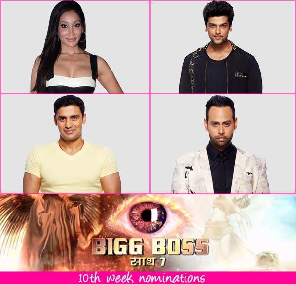 Bigg Boss 7 nominations: VJ Andy, Sangram Singh, Kushal Tandon and Sofia Hayat nominated