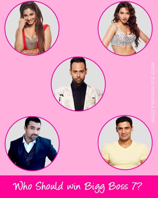 Bigg Boss 7: Gauahar Khan, Tanishaa Mukherji, VJ Andy, Sangram Singh, Ajaz Khan - Who do you think should win the reality show? Vote!